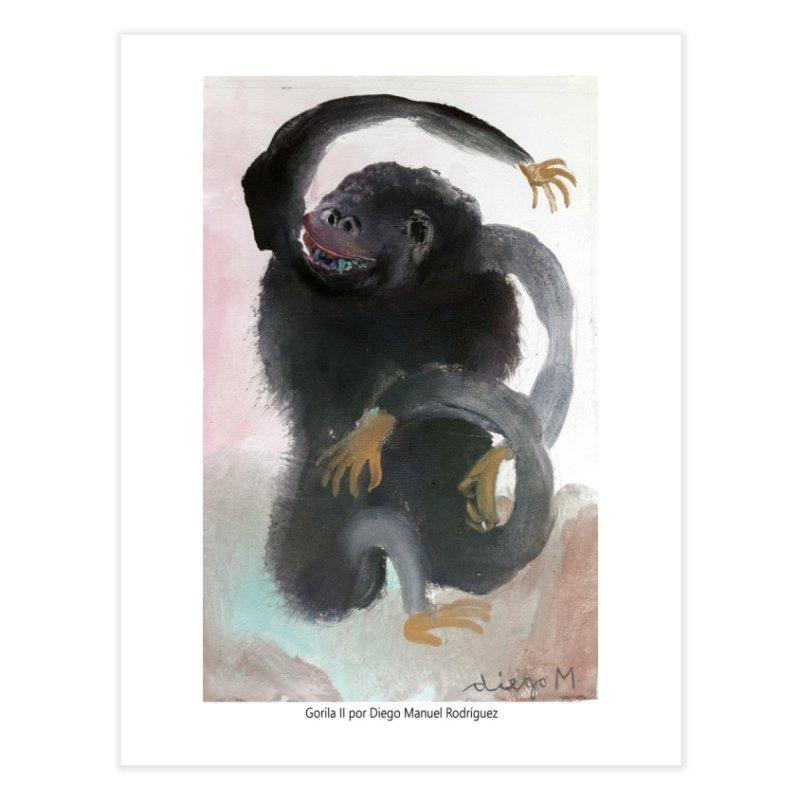 Gorilla 2 Home Fine Art Print by diegomanuel's Artist Shop