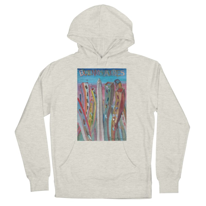 Buenos Aires goal! Women's French Terry Pullover Hoody by diegomanuel's Artist Shop