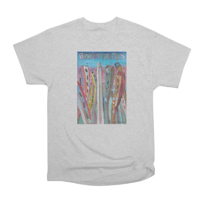 Buenos Aires goool! Women's Heavyweight Unisex T-Shirt by diegomanuel's Artist Shop