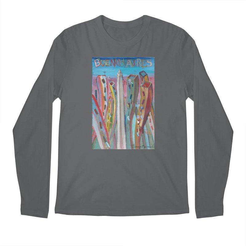 Buenos Aires goal! Men's Regular Longsleeve T-Shirt by diegomanuel's Artist Shop