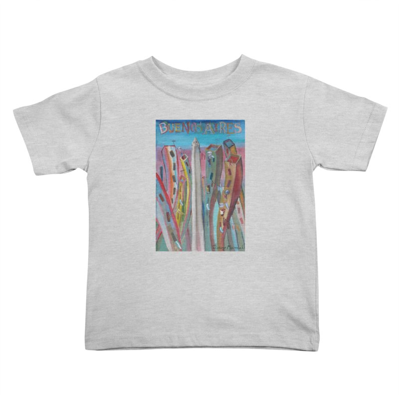 Buenos Aires goal! Kids Toddler T-Shirt by diegomanuel's Artist Shop