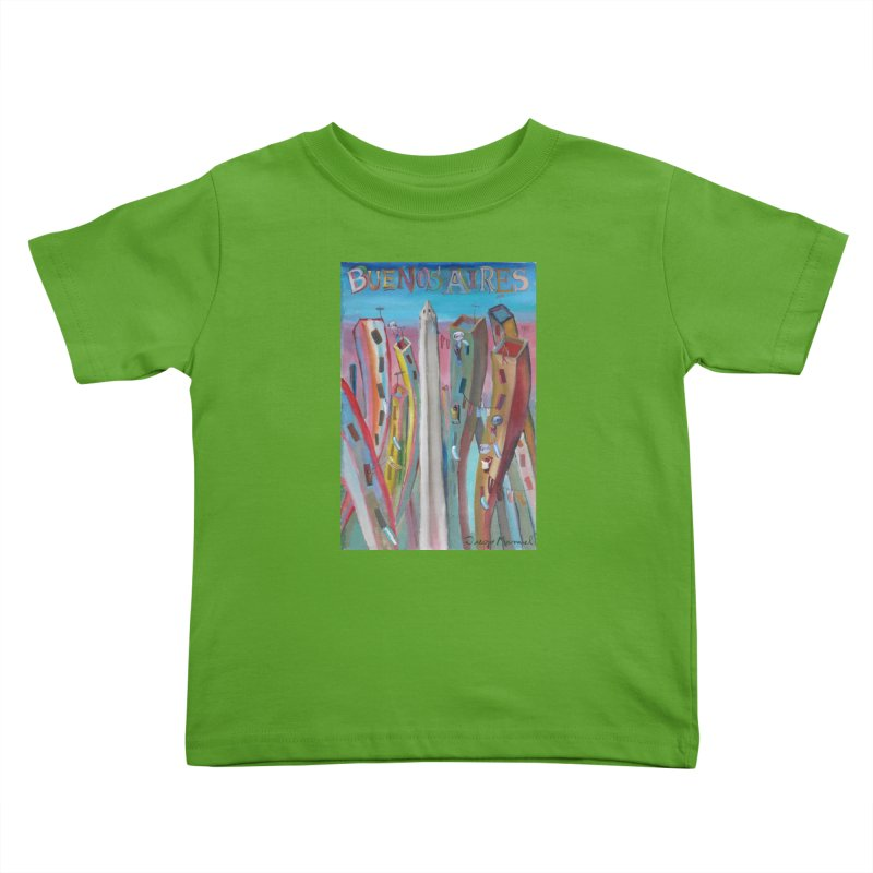 Buenos Aires goal! Kids Toddler T-Shirt by Diego Manuel Rodriguez Artist Shop