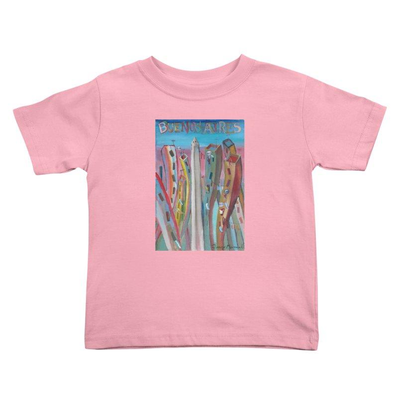 Buenos Aires goal! Kids Toddler T-Shirt by diegomanuel's Artist Shop