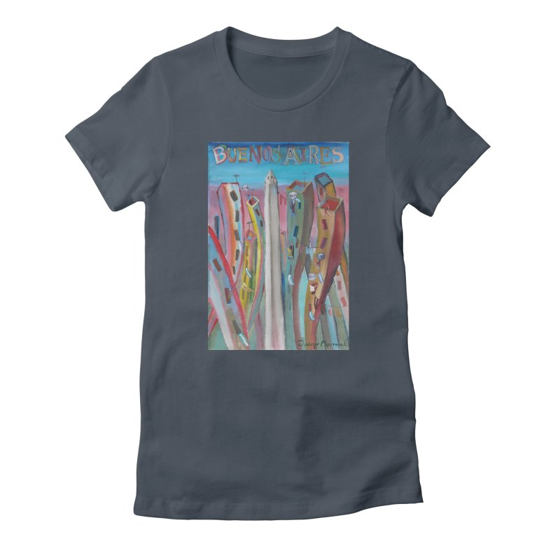 Buenos Aires goal! Women's T-Shirt by Diego Manuel Rodriguez Artist Shop