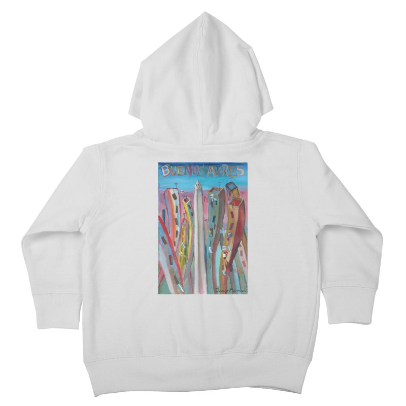 Buenos Aires goal! Kids Toddler Zip-Up Hoody by diegomanuel's Artist Shop