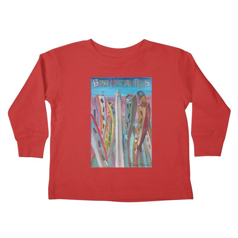 Buenos Aires goal! Kids Toddler Longsleeve T-Shirt by Diego Manuel Rodriguez Artist Shop