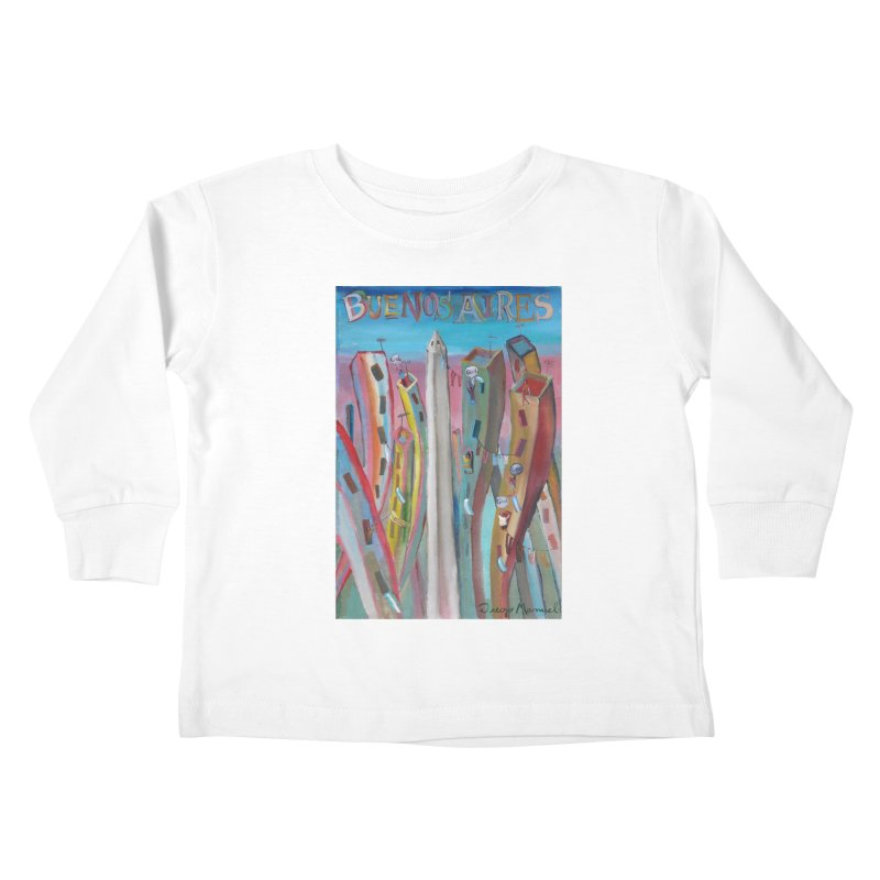 Buenos Aires goal! Kids Toddler Longsleeve T-Shirt by Diego Manuel Rodriguez Artist Shop