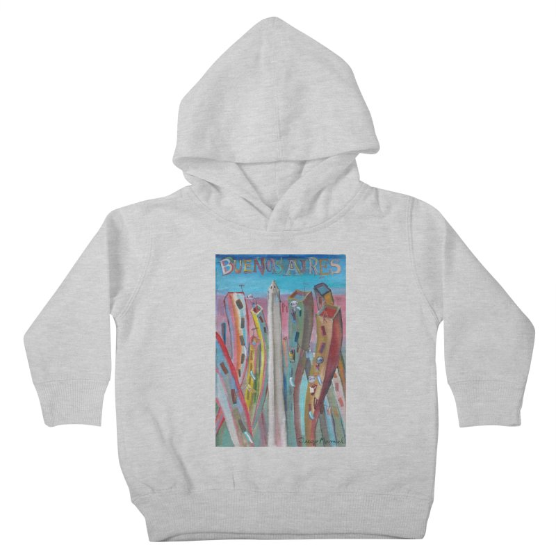 Buenos Aires goal! Kids Toddler Pullover Hoody by Diego Manuel Rodriguez Artist Shop
