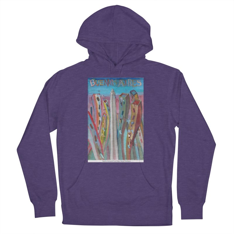 Buenos Aires goool! Men's Pullover Hoody by diegomanuel's Artist Shop