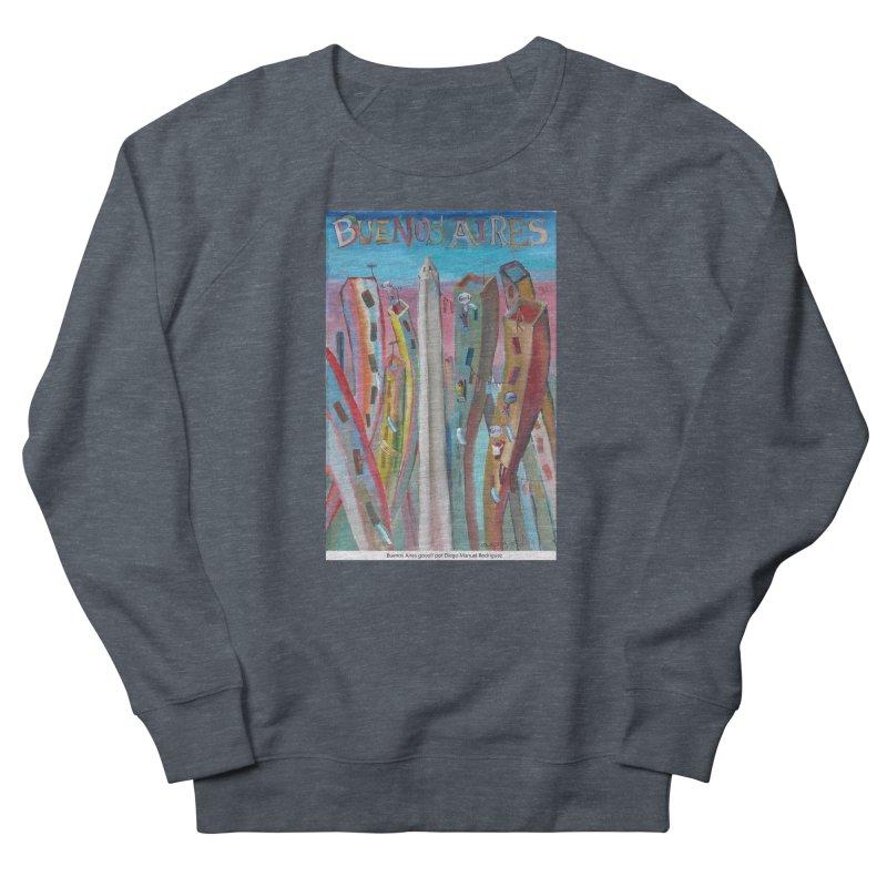 Buenos Aires goool! Men's Sweatshirt by diegomanuel's Artist Shop