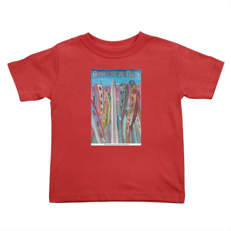 Buenos Aires goool! Kids Toddler T-Shirt by diegomanuel's Artist Shop
