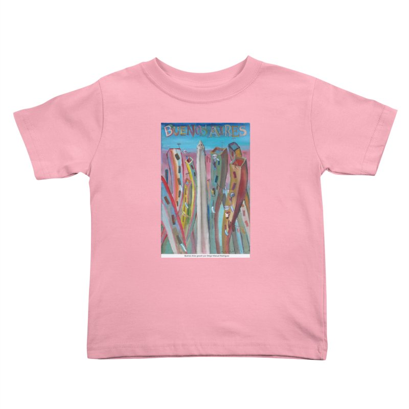 Buenos Aires goool! Kids Toddler T-Shirt by diegomanuel's Artist Shop