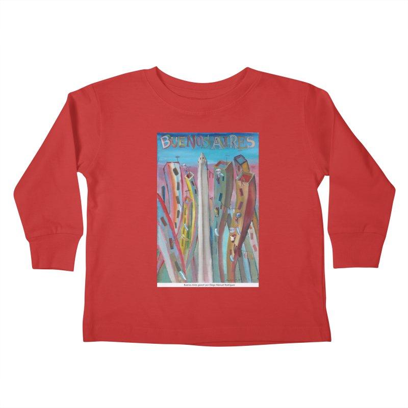 Buenos Aires goool! Kids Toddler Longsleeve T-Shirt by diegomanuel's Artist Shop