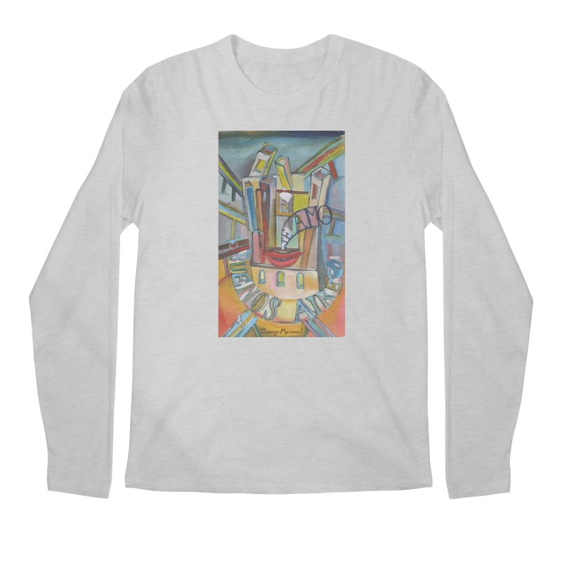 I love you Buenos Aires Men's Regular Longsleeve T-Shirt by diegomanuel's Artist Shop