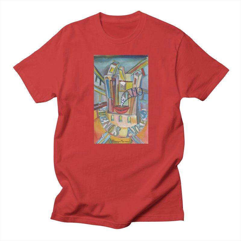 Te amo Buenos Aires Men's T-Shirt by diegomanuel's Artist Shop