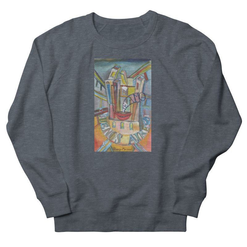 I love you Buenos Aires Men's French Terry Sweatshirt by diegomanuel's Artist Shop