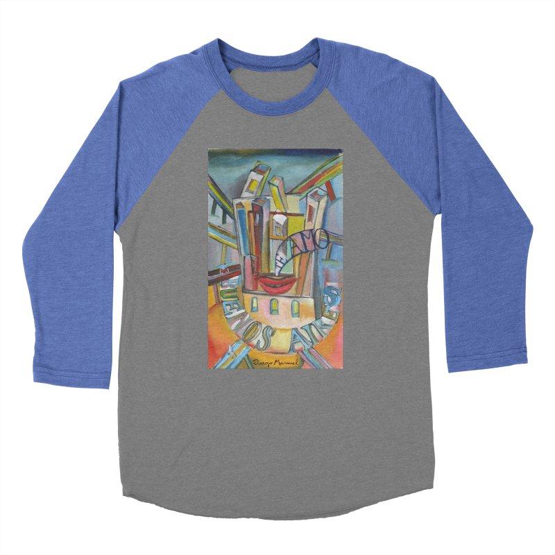 I love you Buenos Aires Women's Baseball Triblend Longsleeve T-Shirt by diegomanuel's Artist Shop
