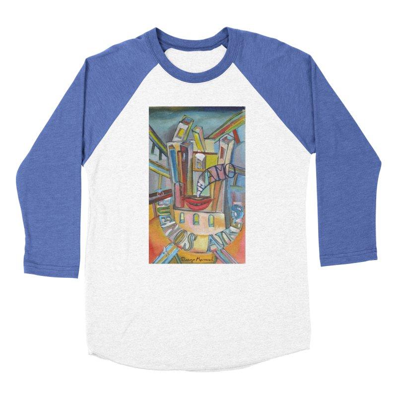 I love you Buenos Aires Men's Baseball Triblend Longsleeve T-Shirt by diegomanuel's Artist Shop