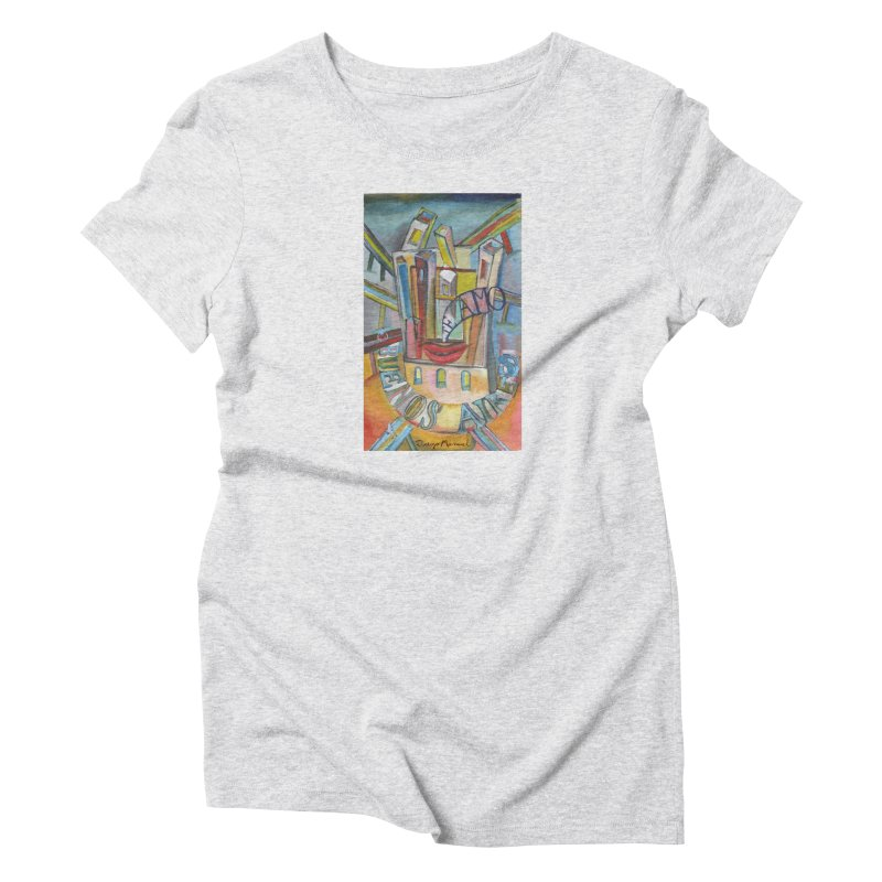 I love you Buenos Aires Women's T-Shirt by diegomanuel's Artist Shop