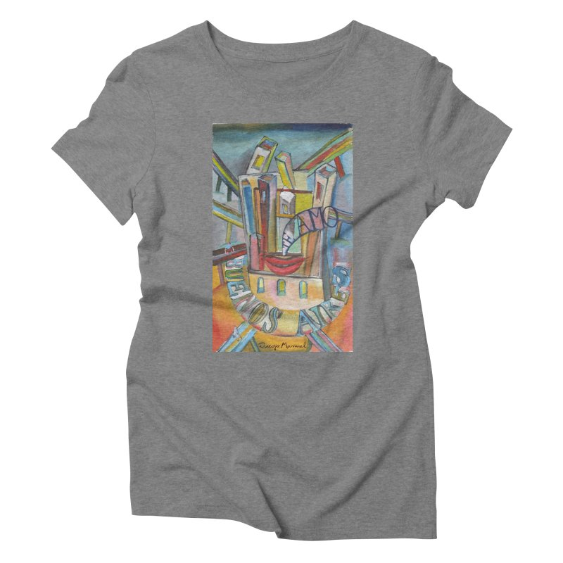 I love you Buenos Aires Women's Triblend T-Shirt by diegomanuel's Artist Shop