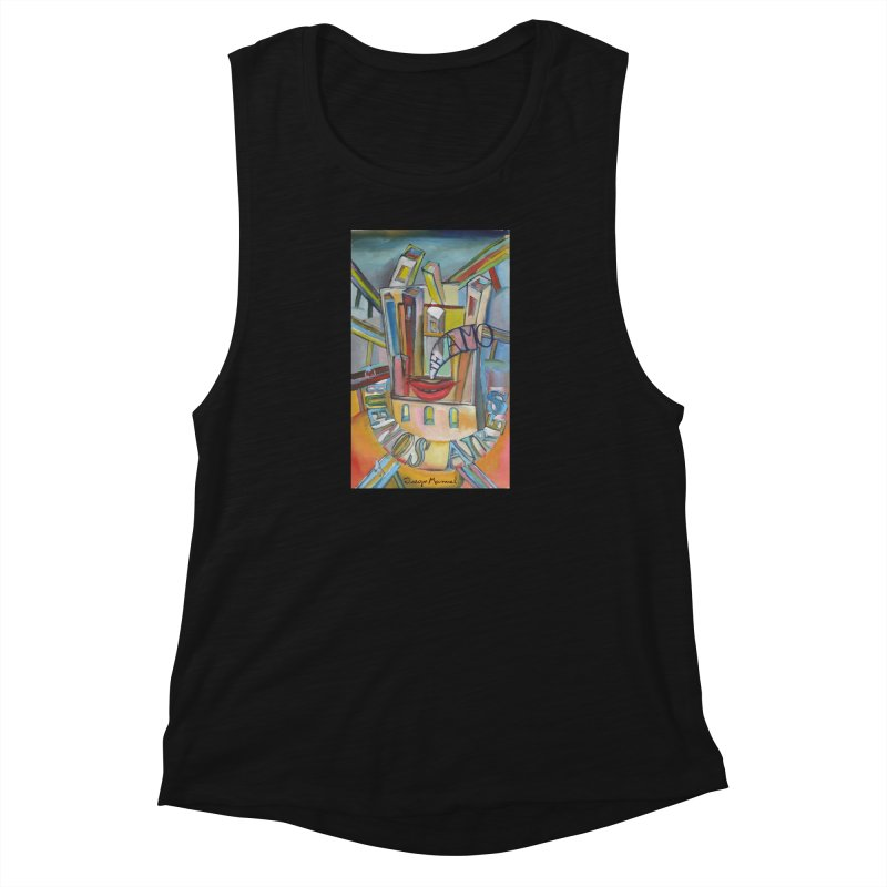 I love you Buenos Aires Women's Muscle Tank by diegomanuel's Artist Shop