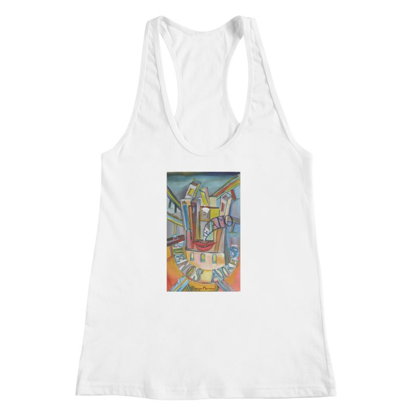 I love you Buenos Aires Women's Racerback Tank by diegomanuel's Artist Shop