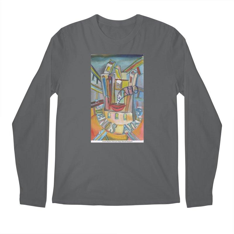 Te amo Buenos Aires Men's Longsleeve T-Shirt by diegomanuel's Artist Shop