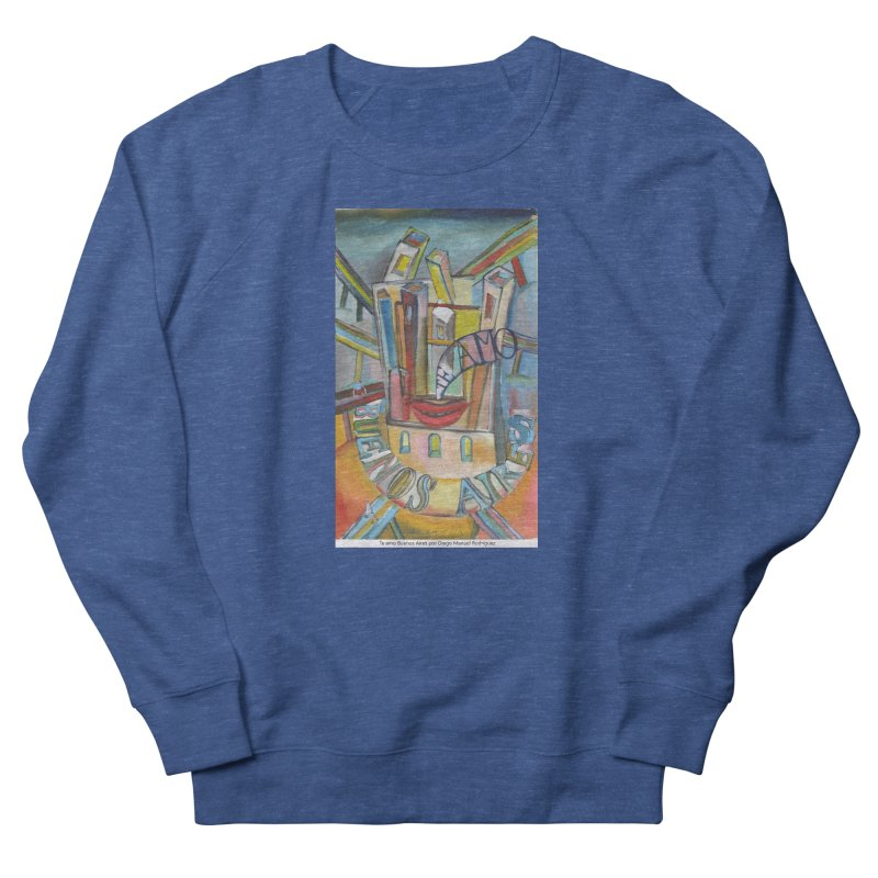 Te amo Buenos Aires Men's Sweatshirt by diegomanuel's Artist Shop