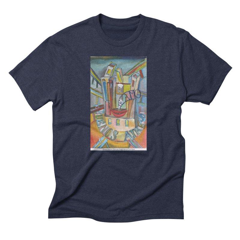 Te amo Buenos Aires Men's Triblend T-Shirt by diegomanuel's Artist Shop