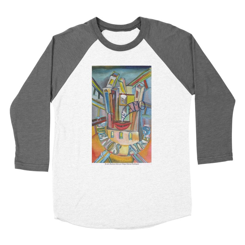 Te amo Buenos Aires Women's Baseball Triblend T-Shirt by diegomanuel's Artist Shop
