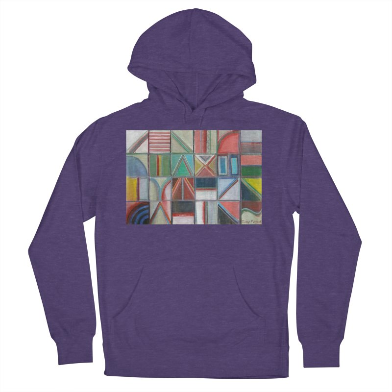 Text Women's French Terry Pullover Hoody by diegomanuel's Artist Shop