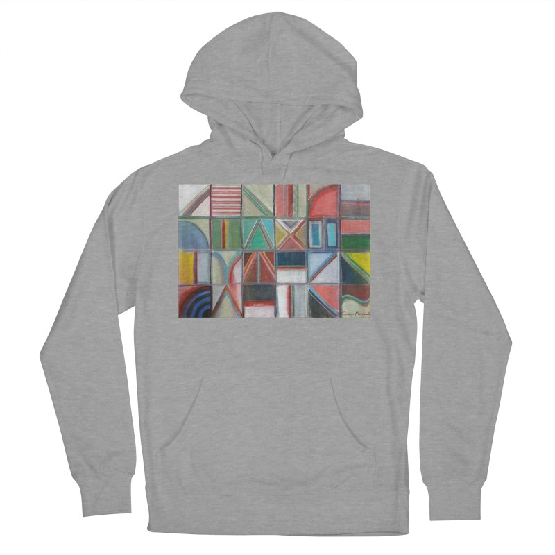 Text Men's French Terry Pullover Hoody by diegomanuel's Artist Shop