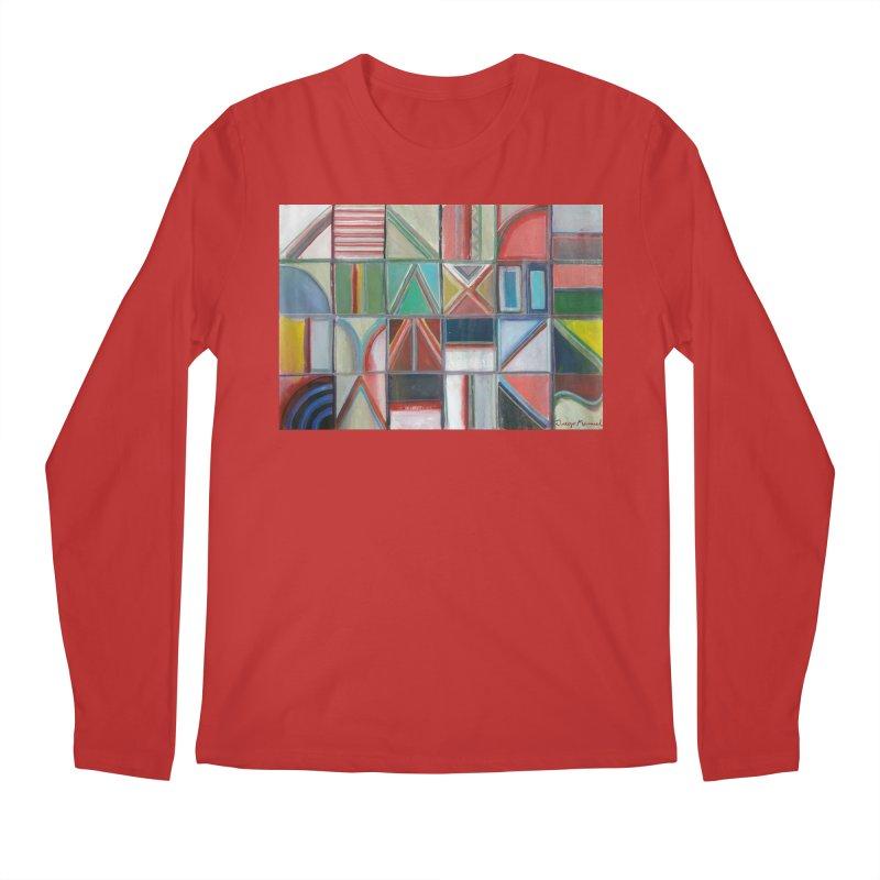 Text Men's Regular Longsleeve T-Shirt by diegomanuel's Artist Shop