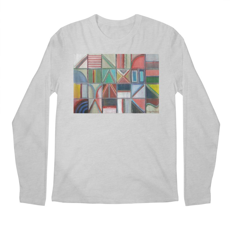 Text Men's Regular Longsleeve T-Shirt by diegomanuel's Artist Shop