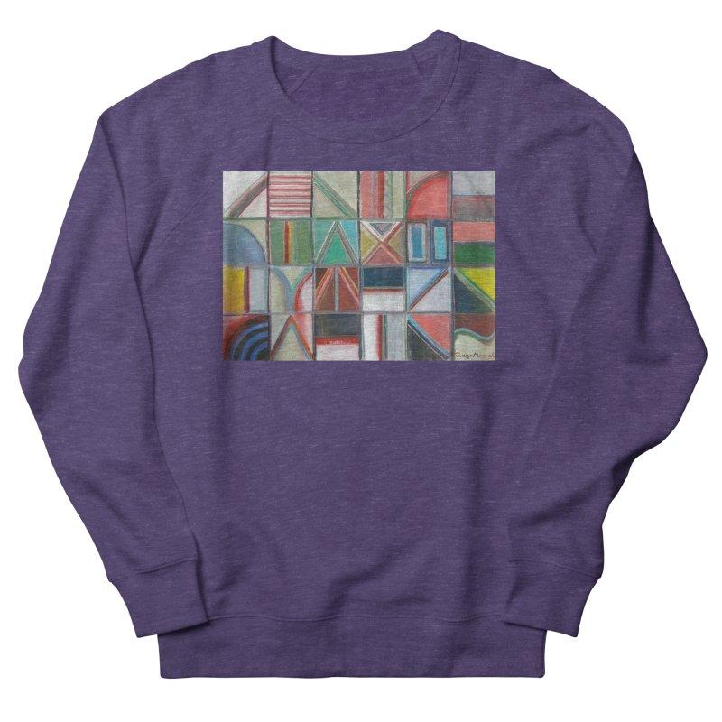 Text Women's French Terry Sweatshirt by diegomanuel's Artist Shop