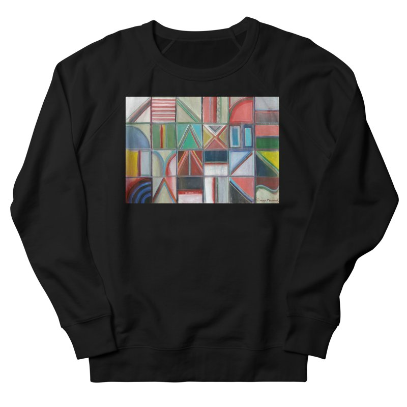Text Women's French Terry Sweatshirt by diegomanuel's Artist Shop