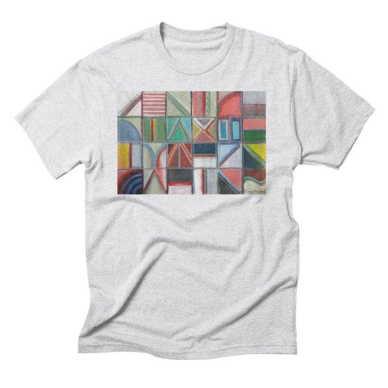 Text Men's Triblend T-Shirt by diegomanuel's Artist Shop