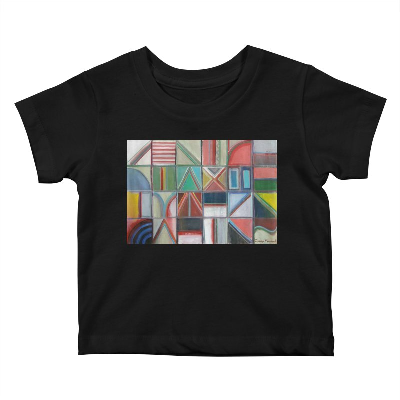 Text Kids Baby T-Shirt by Diego Manuel Rodriguez Artist Shop