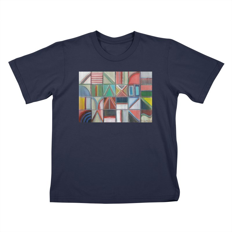 Text Kids T-Shirt by diegomanuel's Artist Shop