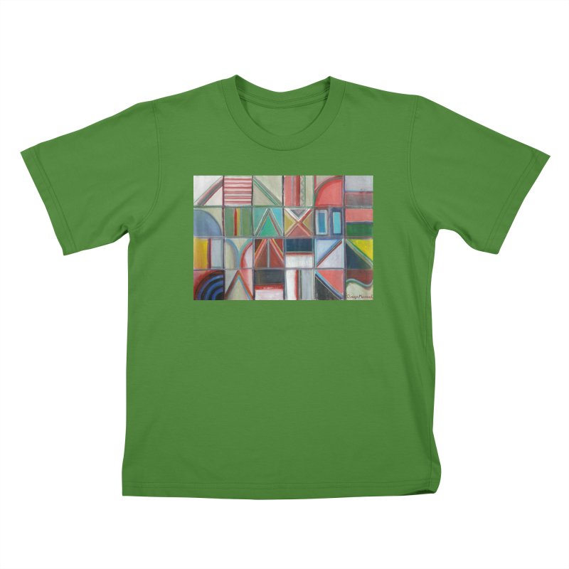 Texto Kids T-Shirt by diegomanuel's Artist Shop