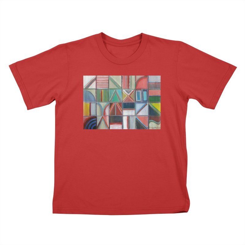 Text Kids T-Shirt by diegomanuel's Artist Shop