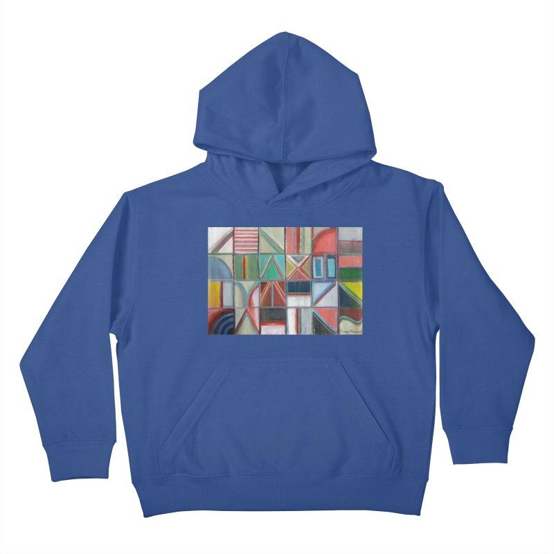 Text Kids Pullover Hoody by diegomanuel's Artist Shop