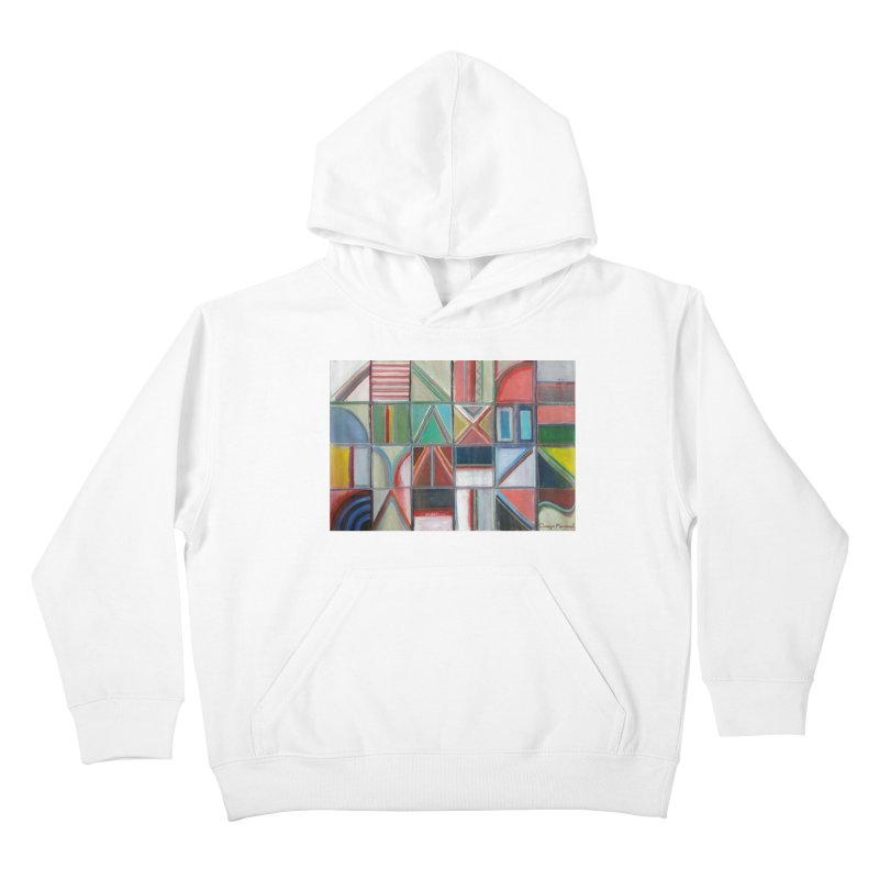 Texto Kids Pullover Hoody by diegomanuel's Artist Shop