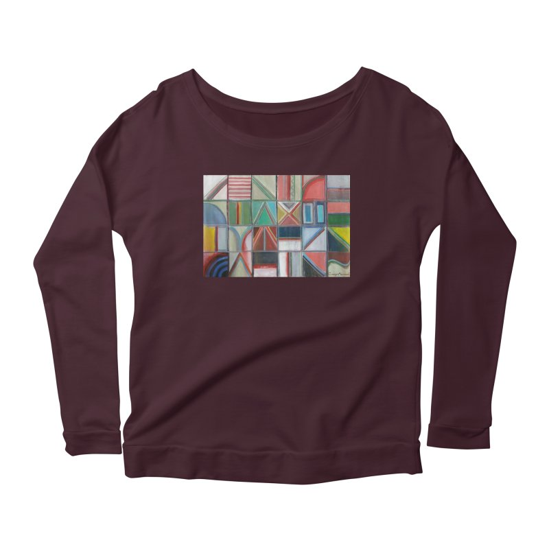 Text Women's Longsleeve T-Shirt by diegomanuel's Artist Shop