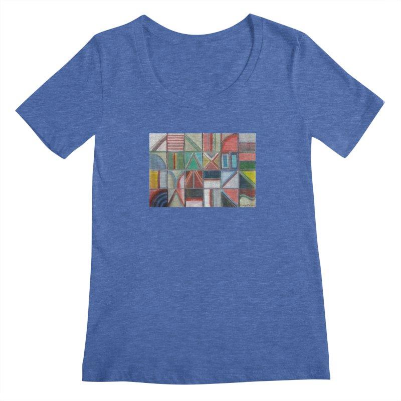Texto Women's Regular Scoop Neck by diegomanuel's Artist Shop