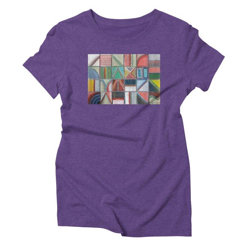 Texto Women's Triblend T-Shirt by diegomanuel's Artist Shop