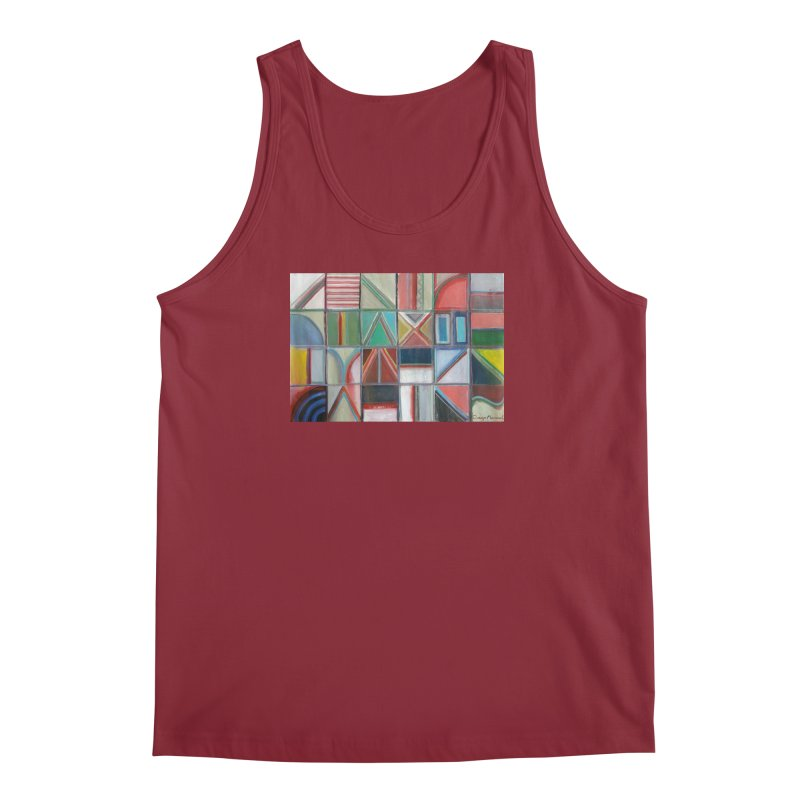 Text Men's Tank by diegomanuel's Artist Shop