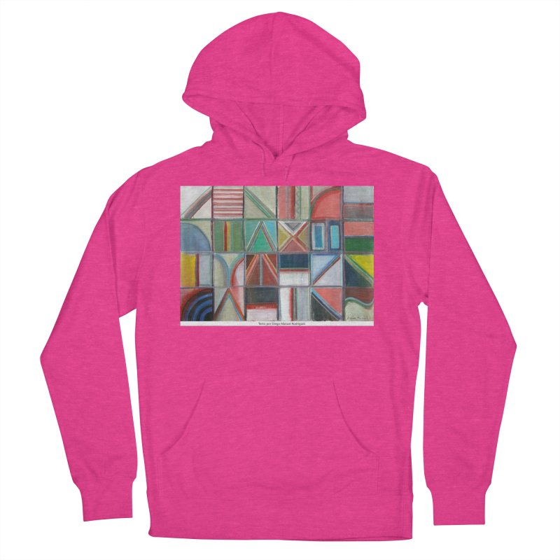 Texto Women's Pullover Hoody by diegomanuel's Artist Shop