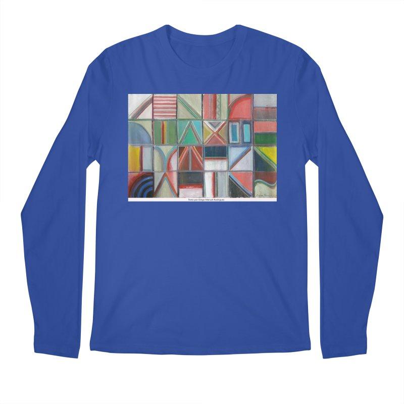 Texto Men's Longsleeve T-Shirt by diegomanuel's Artist Shop
