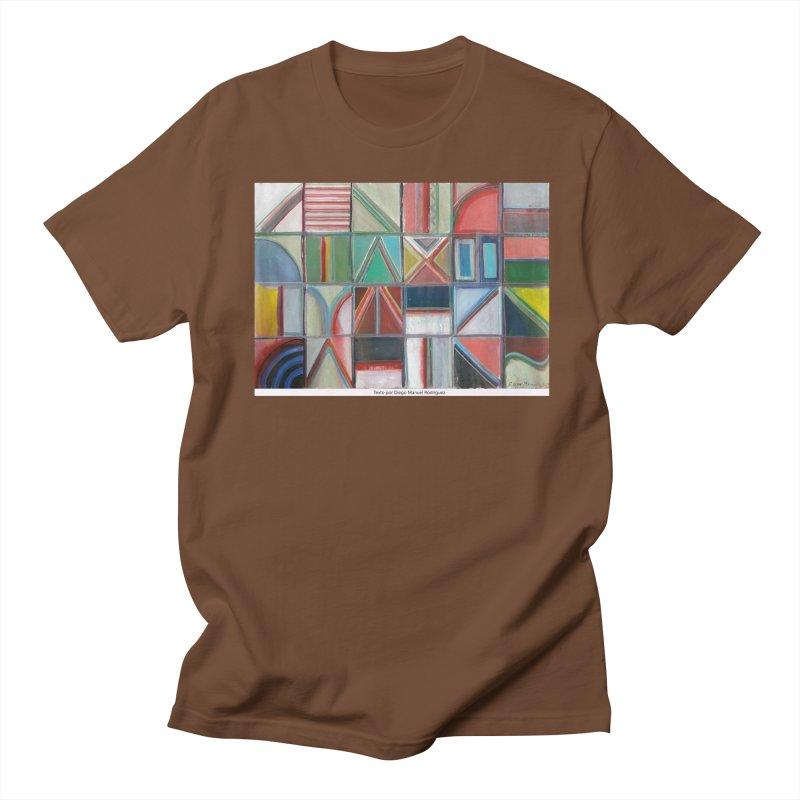 Texto Women's Unisex T-Shirt by diegomanuel's Artist Shop